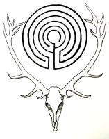 Celtic Moon Tattoo by Iolair01 on DeviantArt