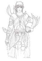 Another Misc Armor Sketch by Azmal on DeviantArt