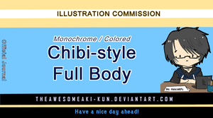 Chibi Commission Price Info on CommissionanArtist