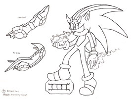 Darkspine Sonic V1.3 by Natakiro on DeviantArt