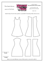 Monster-high-evening-gown-pattern by aDashofInk on DeviantArt