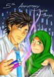 Muslim Manga 5th Anniversary by nabyyl