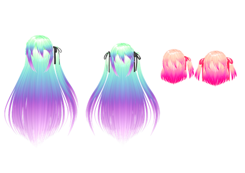 30+ Mmd Long Hairstyles - Hairstyles Ideas - Walk the Falls