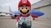 サウスウエスト航空と提携の米任天堂、マリオが乗客にWii U本体セットをサプライズプレゼント