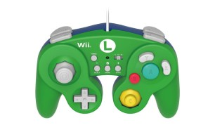 HORI Battle Pad Turbo for Wii U (Luigi Version)