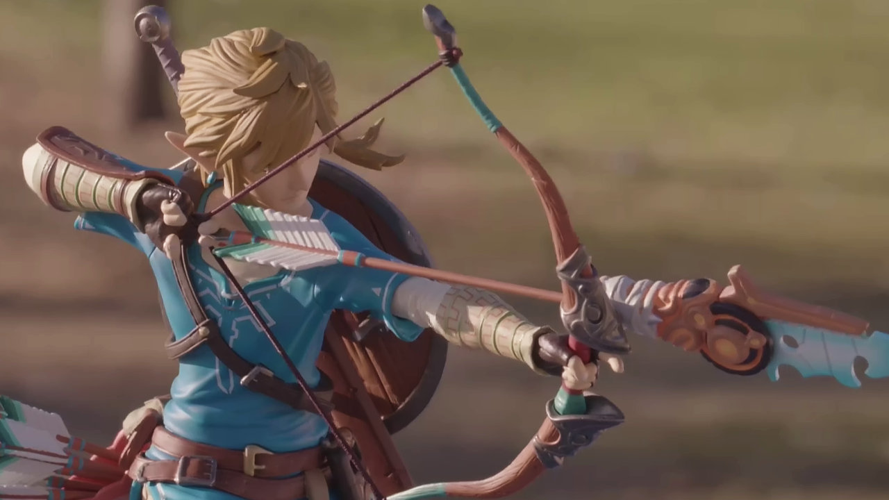 "First 4 Figures - The Legend of Zelda: Breath of the Wild - Link 10"" PVC Statue"
