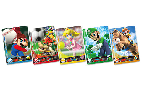 マリオスポーツ スーパースターズ amiibo カード