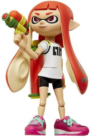 World of Nintendo - Inkling Girl from Splatoon