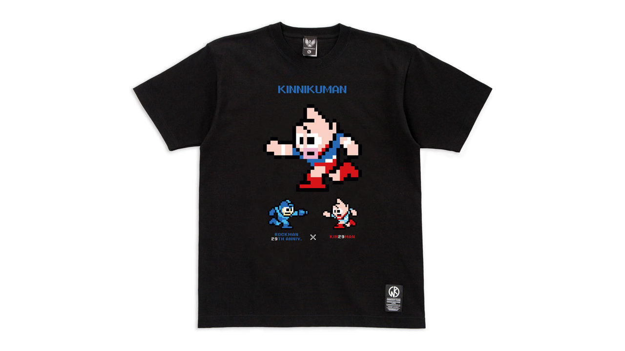 ロックマン29周年×キン肉マン 29コラボ Tシャツ