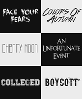 Download Font Pack #3 // 20 Free Fonts by intoxicatedvogue on ...
