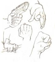 Let's Draw... Hands! Sketch Batch 2 by ashesto on DeviantArt