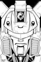 Toon Style Classics Optimus by hiredhand on DeviantArt