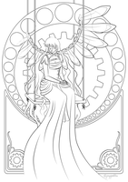 The Legend of Sleepy Hollow coloring page by TheBrassGlass