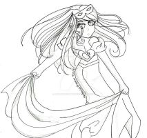 2p Fem England Halloween (uncolored) by AmuletDreamer on