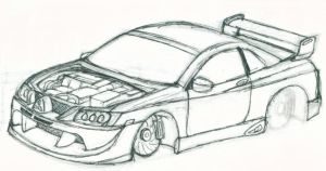 Nismo Skyline R34 GT-R Outline by werewolf1234 on DeviantArt