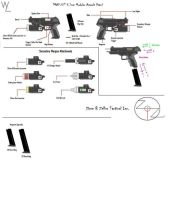 Steyr Aug A3 PDW Weapon by Pirosan on DeviantArt