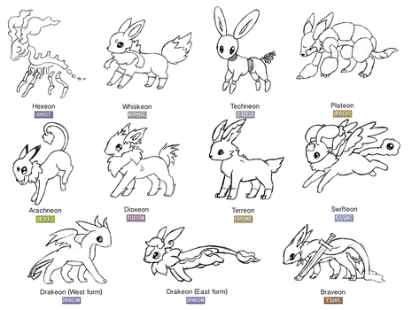 Shiny Eeveelutions In Pokemon Go