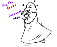Toriel by Simatra on DeviantArt