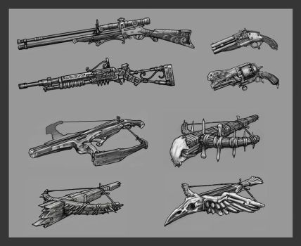 Fantasy Weapons Favourites By Kingbenzehen On DeviantArt