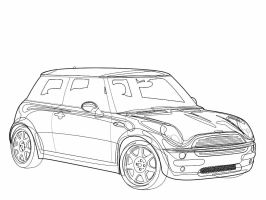 Subaru Impreza STi WRC Outline by OutcastOne on DeviantArt