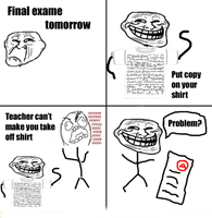 Troll Face comic Vol. 26: What happened if touch.. by