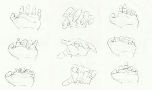 Let's Draw... Hands! Sketch Batch 1 by ashesto on DeviantArt