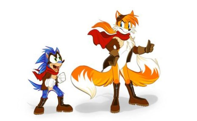 Sonic And Tails On Nerdy Little Fox Deviantart