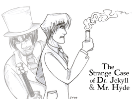 The Strange Case of Dr. Jekyll Mr. Hyde by Adrean-BC on