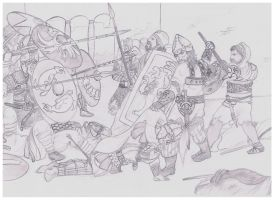 medieval Military camp scene by RyanRyzzo on DeviantArt