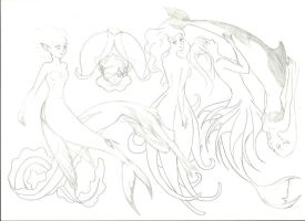 Guide to properly drawing mermaids Pg.11 by