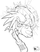 Sonic Boom: Knuckles the Echidna by PrincessEmerald7 on