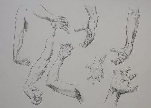 TUTORIAL BODY LEgs and ARMS and Botties on Drawing
