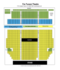 fox theater seat chart | Brokeasshome.com