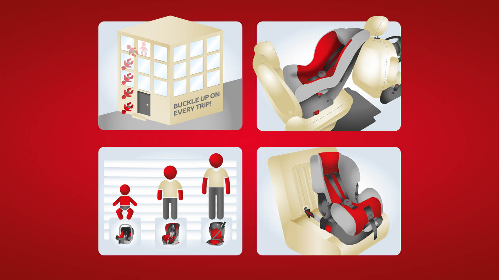 hight resolution of child car seats