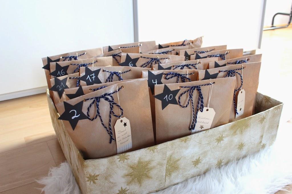 bezaubernde nana, germany, diy, weihnachten, adventskalender, selbstgemacht, basteln
