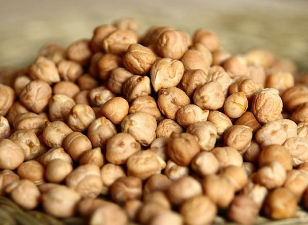 Types of legumes - Chickpeas