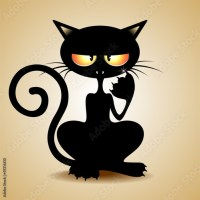 Funny Black Cats Cartoon! © BluedarkArt