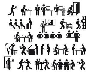 Vecteur : Büro Jobs