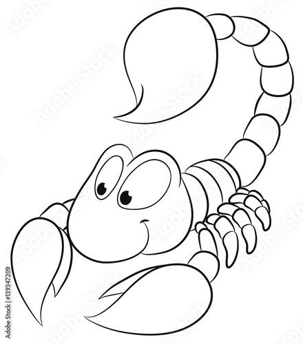 Skorpion Zum Ausmalen