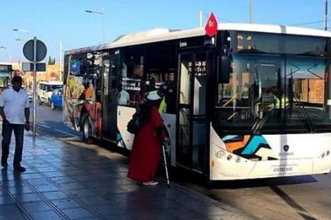 حافلات ألزا الجديدة في الرباط تقصي سلا وتخطئ كتابة الأمازيغية