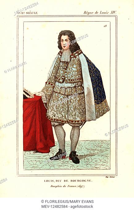 Louis De France (1682-1712) : louis, france, (1682-1712), Louis,, Burgundy, Dauphin, France,, 1682-1712,, Stock, Photo,, Picture, Rights, Managed, Image., MEV-12482584, Agefotostock