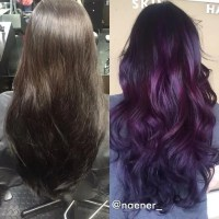 How to Dye Your Hair Purple without Bleach - 4 steps