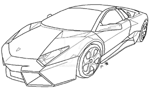 Ferrari F430 Lineart by Asianmaster939 on DeviantArt
