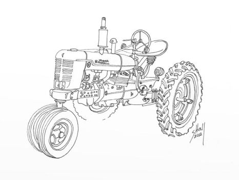 ArtRage Tractor Drawings by steverino365 on DeviantArt