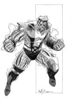Colossus Sketch by AdamWithers on DeviantArt