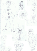 All kinds of cute doodles by kobipbip on DeviantArt