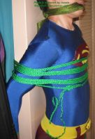 Superboy tied up 2 by ozropeman