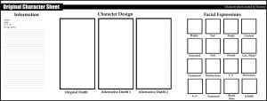 Blank character template by Anekamaru on DeviantArt