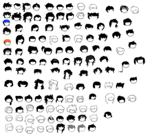 Homestuck Eyes Sprite Sheet by blahjerry on DeviantArt