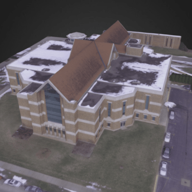 3D Model, WSU Krueger Library